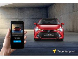 Yandex ve Toyota güvenli sürüş kampanyası