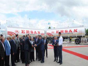Gelecek otomotiv'den Ersan Transport'a 20 adet TIRSAN tanker