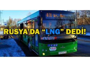 Rusya, Allison şanzımanlı LNG otobüslerle yenilendi