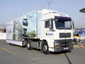 Michelin Tırı, 27 Noktada 4 bin 500 sürücüye lastikte tasarufu anlatacak