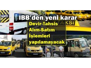 İBB'den Toplu ulaşım araçları için yeni karar