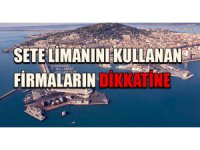Marsilya, Sete Limanı ile ilgili kısıtlamaları paylaştı