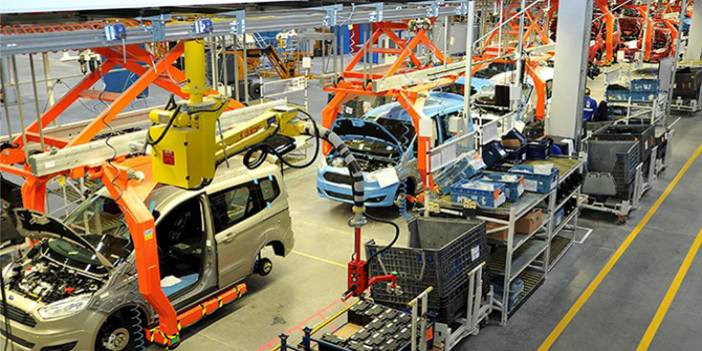 Otomotiv Üretimi Ekim'de 1 Milyon Adedi Aştı