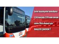 İzmir'e 304 otobüs daha geliyor