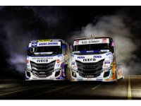 Iveco S-WAY R yarış kamyonu pistlerde