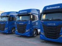 Iveco'dan Murphy'ye 10 adet S-WAY çekici teslimatı