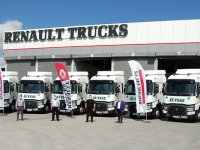 Renault Trucks'dan teslimat