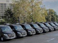 10 adet'lik 10+z koltuklu Sprinter teslimatı