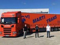 "Mavi Martı Trans ""Scania"" Dedi"