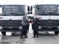 Mercedes Benz 40 adet Atego teslim etti