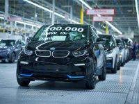 Elektrikli BMW i3 200 bininci Kez Banttan İndi