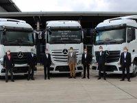 Mercedes-Benz'den Actros teslimatı