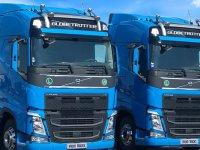 Volvo Trucks 10 adet FH500 TC teslim etti