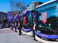 Güvenli otobüsler Safrabolu yollarında