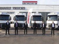 Renault Trucks'dan çekici teslimatı