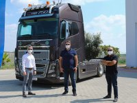 Volvo Trucks'dan teslimat
