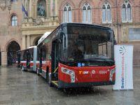 Karsan'ın ürettiği BredaMenarinibus Otobüsler İtalya'da