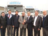 Renault'tan Mersinler Lojistik'e 20 adet kamyon teslimatı