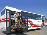 Kocaeli'nin otobüslerinde 'engel' yok