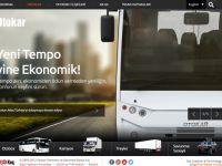 Otokar'ın yeni web sitesi yayında