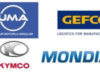 GEFCO Türkiye ve Mondial- Kymco işbirliği