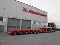 Reiser Schwertransport'a 8 dingili hidrolik Low-Bed