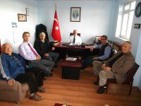 Hopaport'tan liman başkanına 'Hoşgeldin' ziyareti