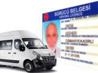 Servis şoförlerine ehliyette müjde