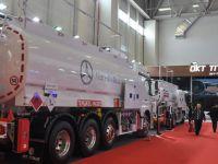 OKT Trailer Petroleum fuarına katıldı