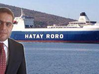 Hatay Ro-Ro Mısır engelini aştı
