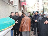 Toplu taşıma camiası cenazede buluştu