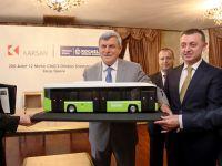 Kocaeli'ne 200 Karsan CNG'li otobüs