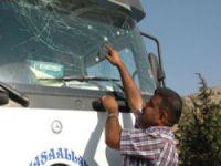 Suriye'deki çatışmadan etkilenen TIR'lar sınırdan geçti
