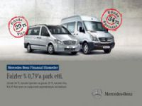 Mercedes Benz'den Hafif Ticari Araçlar ve Otobüste kampanya