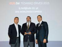 Koç Grubu'ndan DHL'e 10. Yıl Ödülü