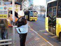 Otobüs Duraklarına Araç Park Edenlere Trafik Cezası