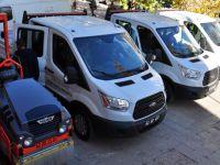Tunceli Belediyesi Filosuna 4 Araç Daha Ekledi