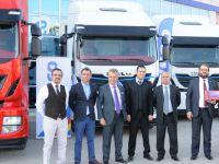 Iveco'dan Mersin'de 10 adet çekici teslimatı