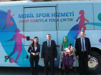TEMSA'dan Mobil Spor Otobüs desteği