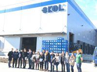 Öğrenciler, Ekol'ün tesislerini inceledi