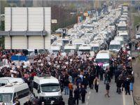 Plaka Tahditi için Servisçiler Edirnekapı'da