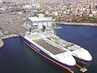 U.N. Ro-Ro'nun Ambarlı Limanını açtı