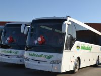 Balıkesir Uludağ Turizm'e 5 Temsa Safir Plus