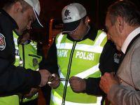 Yolcu otobüslerine polis denetimi