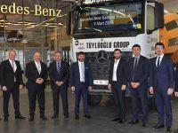 Tüylüoğlu İnşaat'a 35 Mercedes-Benz Arocs