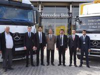 Serdar Lojistik'e 22 adet  Mercedes-Benz
