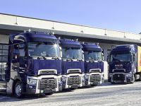 Red Bull takımı için Renault Trucks
