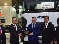 Nuh Beton'un tercihi Ford Trucks inşaat serisi