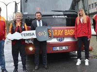 Galatasaray Basketbol Takımı TEMSA'yı seçti