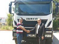 Antalya'da mermer sektörü Iveco ile yoluna devam ediyor
